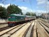 La BB 162 con il treno inaugurale della mostra fotografica itinerante della fotografa brindisina Nancy Motta. (Lecce, 05/06/2010; foto Luigi Mighali / tuttoTreno)