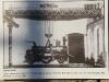 Torino 22/01/2010: mostra fotografica sulle Officine Grandi Riparazioni di Torino delle Ferrovie dello Stato; prova di portata di un carro ponte in una foto della Collezione Pedrazzini. (© Marco Bruzzo)