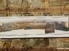 Torino 22/01/2010: mostra fotografica sulle Officine Grandi Riparazioni di Torino delle Ferrovie dello Stato; panoramica delle Officine in una foto della Collezione Apicella. (© Marco Bruzzo)