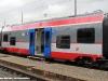 """La cassa centrale Le 220 705 SG dell'ETR S03/05 """"Lupetto"""" della ferrovia Sangritana in esposizione ad Avezzano. (26/06/2009; foto Antonio Bertagnin / tuttoTreno)"""