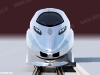 Il rendering dell'ETR 1000, il nuovo treno AV di Trenitalia, attualmente in gara. (© Ferrovie dello Stato / tuttoTreno)