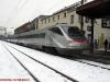 L'ETR 480 38 mentre parte da Bolzano per Roma espletando l'ES 9311, soppresso dal 14/12/2008. (12/12/2008; © foto Paolo Bartolomei / tuttoTreno)