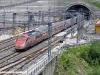 Un ETR 500 in servizio sulla dorsale AV Roma-Milano in transito al P.M. San Pellegrino della linea AV/AC Firenze-Bologna. (30/05/2010; foto Stefano Patelli/ tuttoTreno)