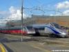 L'ETR 610 03 all'IMC ES di Roma, appena giunto da Milano e destinato a essere testa di serie per le prove ERTMS2 sulla rete AVAC italiana. (13/05/2010; foto Riccardo Bianchi / tuttoTreno)