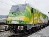 La TRAXX realizzata da Bombardier per l'impresa polacca Koleje Mazowiechie: classificata E 583 001 è una tipo P160 DC, locomotiva da 160 km/h monotensione 3 kV. (28/10/2010; © Jacopo Raspanti / tuttoTreno)