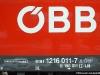 La doppia marcatura della Taurus E 190 011/ 1216 011 delle ÖBB. (Brennero, 16/03/2010; foto Ellis Barazzuol / tuttoTreno)