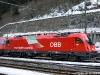 La E 190 012 delle ÖBB in livrea per i treni EC Germania-Italia. (Brennero, 16/03/2010; foto Ellis Barazzuol / tuttoTreno)