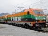 Le E 483 201 e 202 dell'impresa polacca Pol-Miedz Trans in attesa di essere messe in composizione al treno per il trasferimento da Vado Ligure verso la Polonia. (28/12/2010; © Jacopo Raspanti / tuttoTreno)