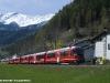 L'Allegra ABe 8/12 3503 in servizio tra Tirano e St. Moritz. (Poschiavo, 22/04/2010; foto Walter Bonmartini / tuttoTreno)