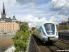 Un  convoglio Coradia Nordic in uso alla rete suburbana di Stoccolma, gestita da Storstockholms Lokaltraifik. foto Alstom / tuttoTreno)