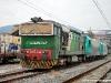 La DE 520 15 delle NordCargo si appresta a trasferire le E 483 019 e 020 effettuando il treno NCLS 39501 VadoLigureZonaIndustriale-Asti. (VadoLigure, 24/03/2010; foto Jacopo Raspanti / tuttoTreno)