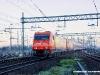 Le E 483 018 e 020 di Arena Ways in arrivo ad Alessandria con l'Espresso 13373 Autozug  Dusseldorf-Alessandria. (05/04/2010; foto Massimo Rinaldi / tuttoTreno)