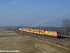Il treno R 24226 Milano-Torino di Arena Ways in doppia trazione simmetrica di E 483 018 e 020 nei pressi di Olcenengo. (31/12/2010; foto M. Rinaldi)