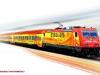 Il rendering del treno Arena Ways. (Foto Arena Ways / tuttoTreno)