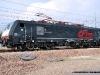 La E 189 409 CFI dell'impresa ferroviaria Compagnia Ferroviaria Italiana, operante nel trasporto merci. (Melzo Scalo, 26/04/2010; foto Alessandro Destasi / tuttoTreno)