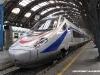 L'ETR 610 n° 8 di Cisalpino sotto la volta di Milano Centrale. (25/07/2009; foto Giancarlo Modesti / tuttoTreno)