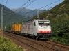 La E 186 905XR di Crossrail alla testa del TEC 40075 DomoII-Faenza. (Premosello, 06/09/2009; foto Massimo Rinaldi / tuttoTreno)