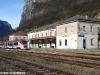 La stazione ferroviaria di Primolano, una delle 122 stazioni interessate all'operazione di riqualificazione tra Regione Veneto e RFI. (Primolano, 07/11/07; foto Marco Bruzzo / tuttoTreno)