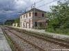 La stazione di Giarole sulla linea Alessandria-Chivasso. (07/05/2010; foto Paolo Di Lorenzo / tuttoTreno)
