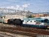 La manovra del treno approntato per il trasferimento 685 089 dopo lo sbarco dal traghetto Scilla di RFI. (Messina Centrale, 08/05/2010; Francesco Bloisi / tuttoTreno)