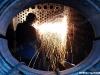 I lavori per la sostituzione dei tubi della caldaia della 740 278, effettuati a La Spezia dai volontari del Museo Nazionale dei Trasporti. (03/07/2010;; foto Gabriele Savi / tuttoTreno)