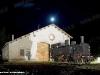 La 880 001 in una notte di luna piena nel piazzale della Rimessa Locomotive di Primolano. (24/07/2010; foto Marco Bruzzo / tuttoTreno)