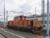 La DE 145 01FM delle ferrovie Nord Milano in manovra nello scalo di Novara Boschetto. (12/04/2010; foto Paolo Di Lorenzo / tuttoTreno)