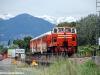 Il viaggio di presentazione ufficiale del Treno dei Sapori de LeNORD sulla linea Brescia-Iseo-Edolo; in composizione la Cne 517 e le carrozze Bz 80 23 e 24. (Marone, 17/05/10; © foto Carlo Bonari / tuttoTreno)