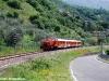 Il viaggio di presentazione ufficiale del Treno dei Sapori de LeNORD sulla linea Brescia-Iseo-Edolo; in composizione la Cne 517 e le carrozze Bz 80 23 e 24. (Sale Marasino, 17/05/10; © foto Carlo Bonari / tuttoTreno)