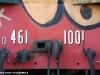 Particolare del pancone della locomotiva Diesel prototipo D 461 1001 accantonata alla Magliola di Santhià, prima del restauro estetico. (21/10/2007; foto Andrea Acquadro / tuttoTreno)