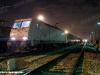 La E 483 023ER della FER in partenza con il treno MD 61725 da Melzo Scalo per Poggio Rusco. (19/11/2010; foto A. Destasi)