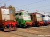 le locomotive storiche E 636 265, E 645 104, E 636 243 e E 444 001 al Porte Aperte 2008 di Milano Smistamento. (11/10/2008; foto Andrea Camatta / tuttoTreno)