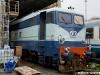 La E 646 085 in livrea Treno Azzurro, al Deposito di Genova Brignole per la messa a punto. (16/06/2010; foto Matteo Rovatti / tuttoTreno)