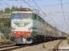 La E 646 158 impegnata nel trasferimento di un convoglio di carrozze storiche da Milano a Paola. (Torricola, 13/10/2010; foto Davide Porciello / tuttoTreno)