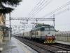 Il treno Espresso 13021 Mosca-Nizza: la E 656 433 alla testa del convoglio russo/polacco transita a Villamaggiore, sulla linea Milano-Pavia. (25/09/2010; © Alessandro Destasi / tuttoTreno)