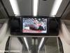 Presentazione delle nuove classi del Frecciarossa a bordo dell'ETR 500 01: monitor a bordo. (Napoli, 24/11/2011; Maurizio Pannico / TuttoTreno)