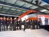 Presentazione delle nuove classi del Frecciarossa a bordo dell'ETR 500 01: l'AD di FS Italiane Mauro Moretti presenta le nuove classi del Frecciarossa. (Napoli, 24/11/2011; Maurizio Pannico / TuttoTreno)