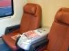 Presentazione delle nuove classi del Frecciarossa a bordo dell'ETR 500 01; il salottino a quattro posti in classe Business. (Napoli, 24/11/2011; Maurizio Pannico / TuttoTreno)