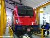 La E 190 301 della FUC nella Rimessa del Deposito Locomotive FUC della città friulana. (25/01/2011; foto Enrico Ceron / tuttoTreno)