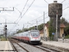 L'ETR 485 34 effettua l'AV 9450 Roma–Bolzano, deviatovia Civiatvecchia–Pisa. (Empoli, 24/07/2011; foto Frank Andiver / tuttoTreno)