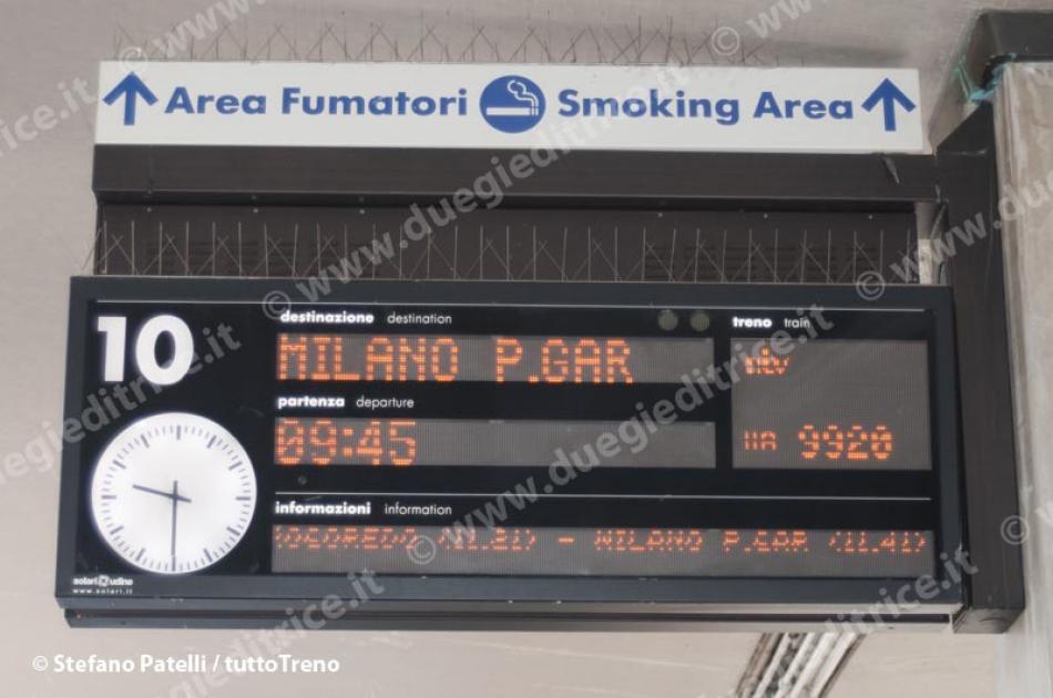Sala Fumatori Italo : Ore italo napoli centrale milano p g partito