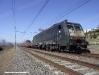 La E 189 986 dell'impresa ISC impegnata nel trasferimento dell'ETR 575 009. (Fara Sabina, 25/02/2012; foto Gianluca Detti / tuttoTreno)