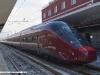 L'ETR 575 004 a Napoli Centrale il 15 febbraio durante le corse di preesercizio. (Foto Stefano Patelli/ tuttoTreno)