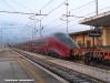 L'ETR 575 009 di NTV durante il viaggio di trassferimento da La Rochelle (F) a Nola Interporto. (Cancello, 25/02/2012; Marco Camerino / tuttoTreno)