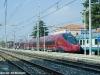 ETR 575 019 in corsa prova tra RomaTuscolana e Aversa. (Priverno, 25/02/2012; foto Davide Porciello / tuttoTreno)