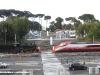 La E 404 001 e la 640 003 esposte tra la galleria Nazionale d'Arte Moderna e la Scalea Zevi in occasione dei 150 anni d'Unità d'Italia. (Roma, 01/04/2011; foto Giancarlo Modesti / tuttoTreno)