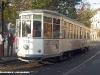 """Il 1702 """"Tram delle Sorprese"""" durante la giornata milanese senza traffico. (20/11/2011; foto Giancarlo Modesti / tuttoTreno)"""