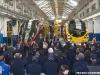 Incontro Alstom con i clienti NTV e Virgin Trains nello stabilimento di Savigliano: da sx Giuseppe Sciarrone, AD NTV, Henry Poupart Lafarge, Presidente Alstom Transport e Tony Collins, CEO Virgin Trains. (30/11/2011; foto Marco Bruzzo / tuttoTreno)