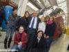 L'AD di NTV Giuseppe Sciazzone con gli ingegneri