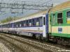 Carrozze PKP Intercity in composizione al primo convoglio dalla Polonia per Roma, qui in transito nella stazione di Vigodarzere. (30/04/2011; © Marco Bruzzo / tuttoTreno)
